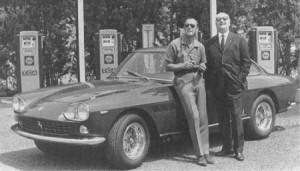 KONI_Historique_1964_Prince Bernhard_Enzo Ferrari - copie