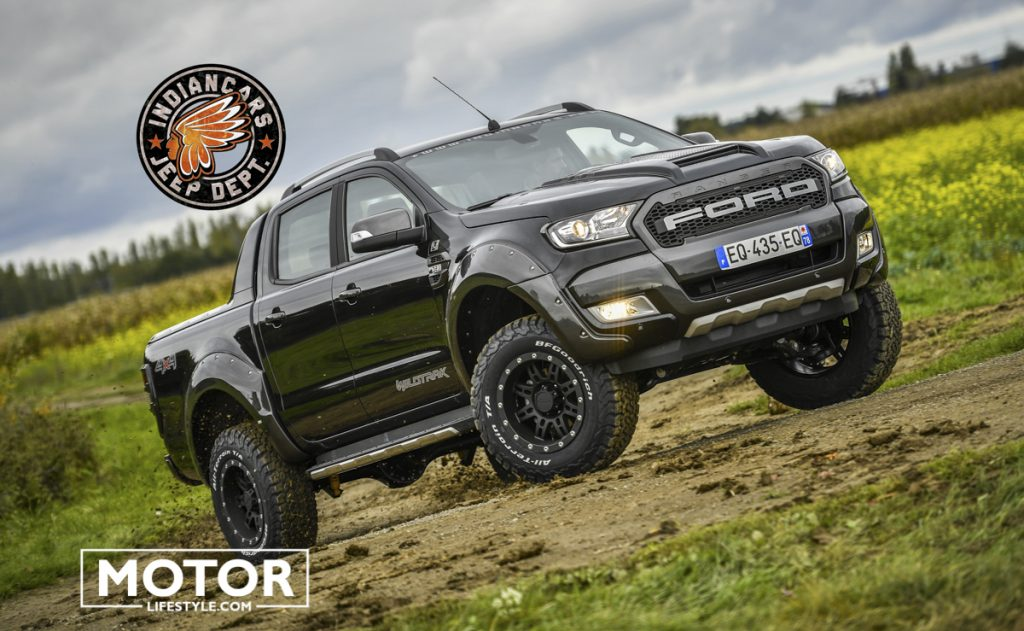 Ford Ranger 4x4 Pick Up Préparation 4x4 Indiancars