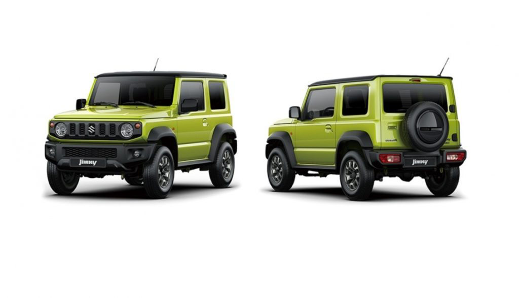 suzuki jimny 2019 nouveau 4x4 suzuki. Black Bedroom Furniture Sets. Home Design Ideas