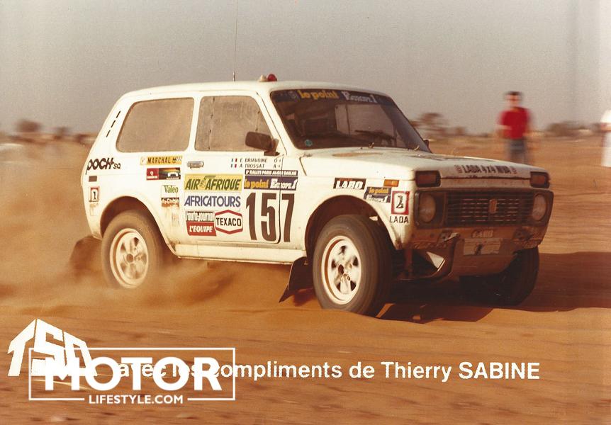 Lada Niva 4x4 Paris-Dakar Rallye 1983 - Dakhla Rallye 2019
