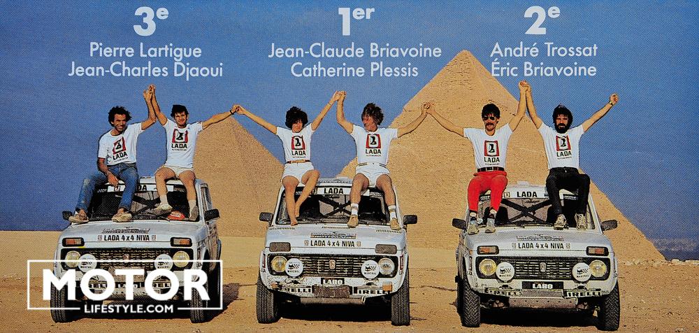 Rallye de Pharaons 1983 Lada Niva
