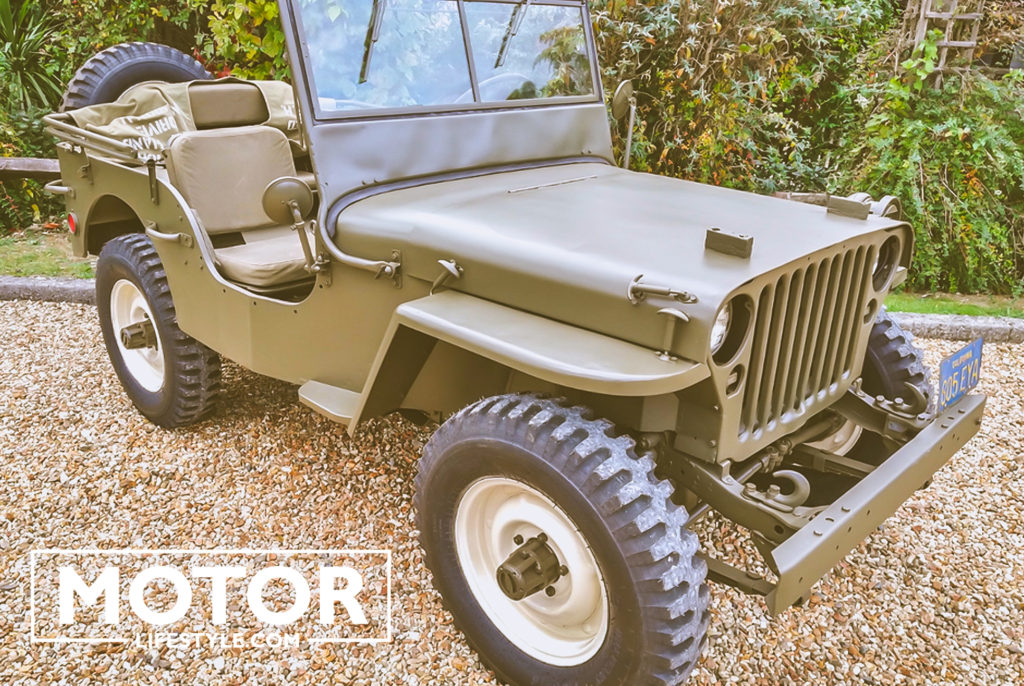 Jeep Willys Steve McQueen Auction
