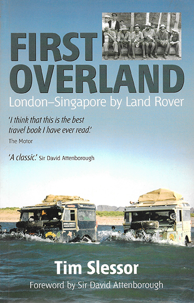 First Overland 1955 London Singapour