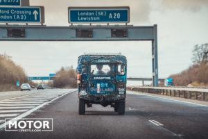 First Overland 1955 London Singapour en Land Rover série 1