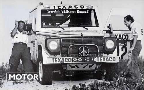 Mercedes G Dakar Rally Ickx Brasseur