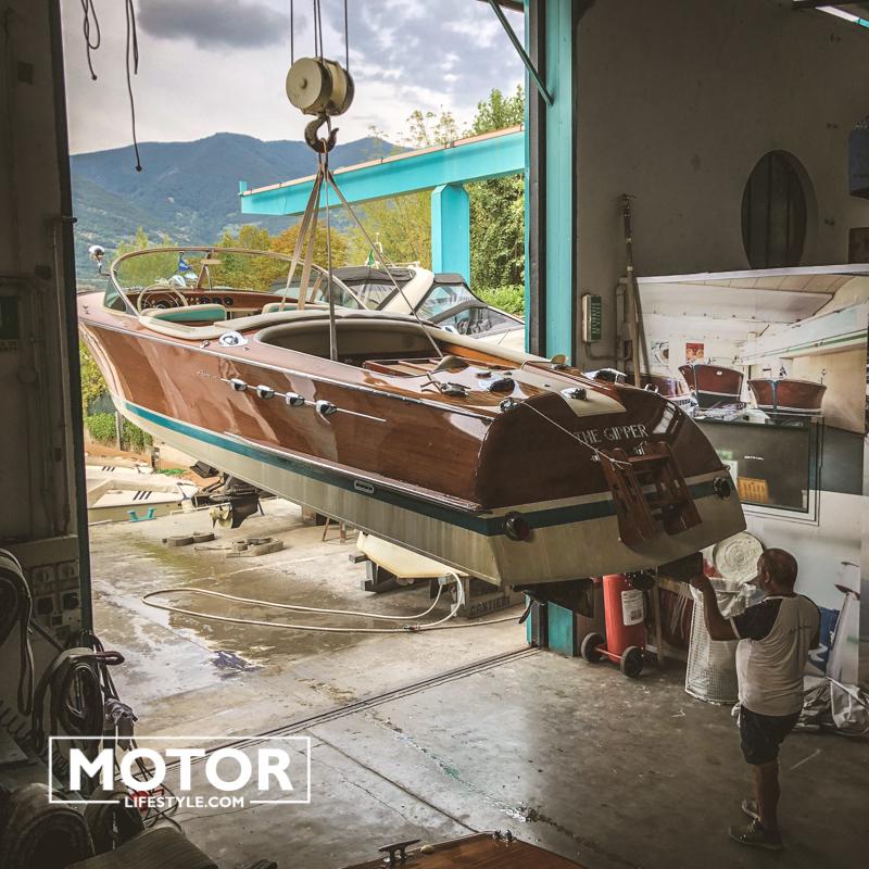 Riva yacht carlo riva collection Riva Bellini Aquarama yacht Lamborghini