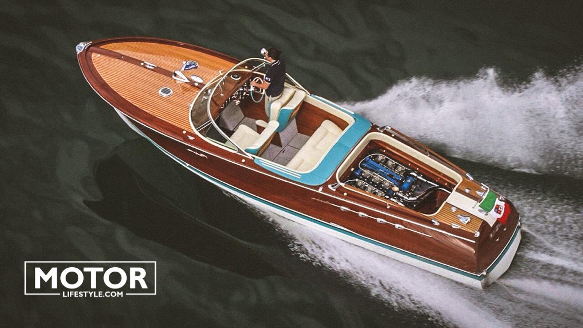 Riva yacht, la légende – Collection Bellini Riva yacht carlo riva collection Riva Bellini Aquarama yacht Lamborghini