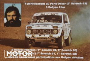 Lada niva paris Dakar André Trossat018